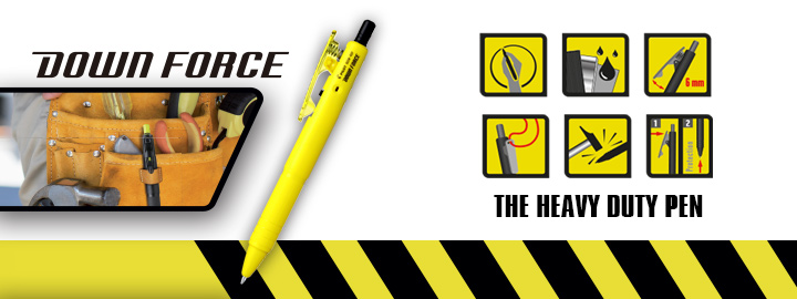 Down force by Pilot : Heavy duty ballpoint pen