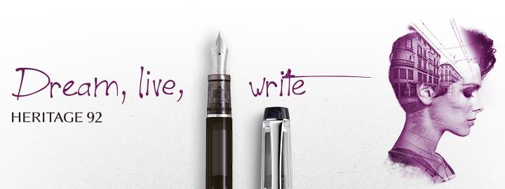 Heritage 92 Black - Pilot Fine writing