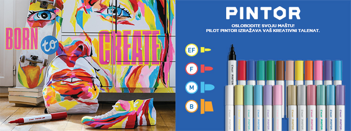 Pilot Pintor creative paint markers