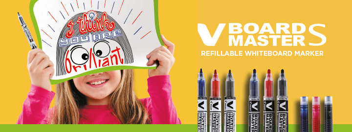 V-Board Master S - Begreen whiteboard marker by Pilot