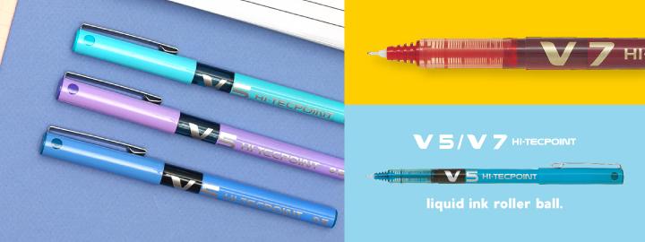 Pilot - Liquid ink rollerball - V5/V7 Hi-Tecpoint