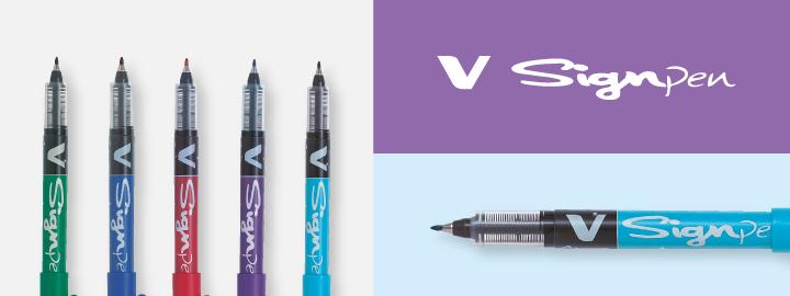 Pilot Fineliner Marker pens - V-Sign Pen