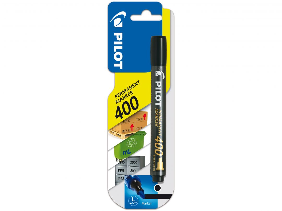 Blis Permanent Marker 400 Broad Black
