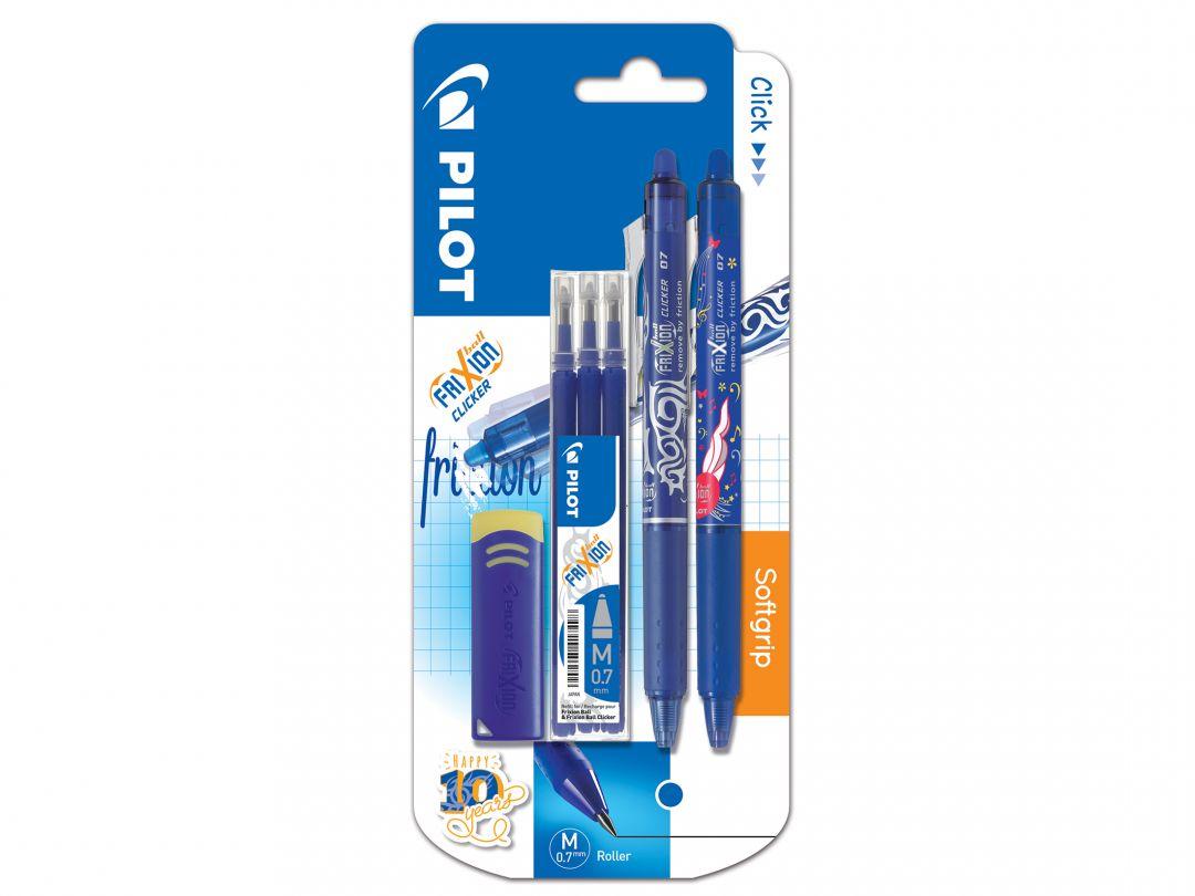 Blis FriXion Clicker 0.7 L - 3 Refills - Eraser + Clicker LE