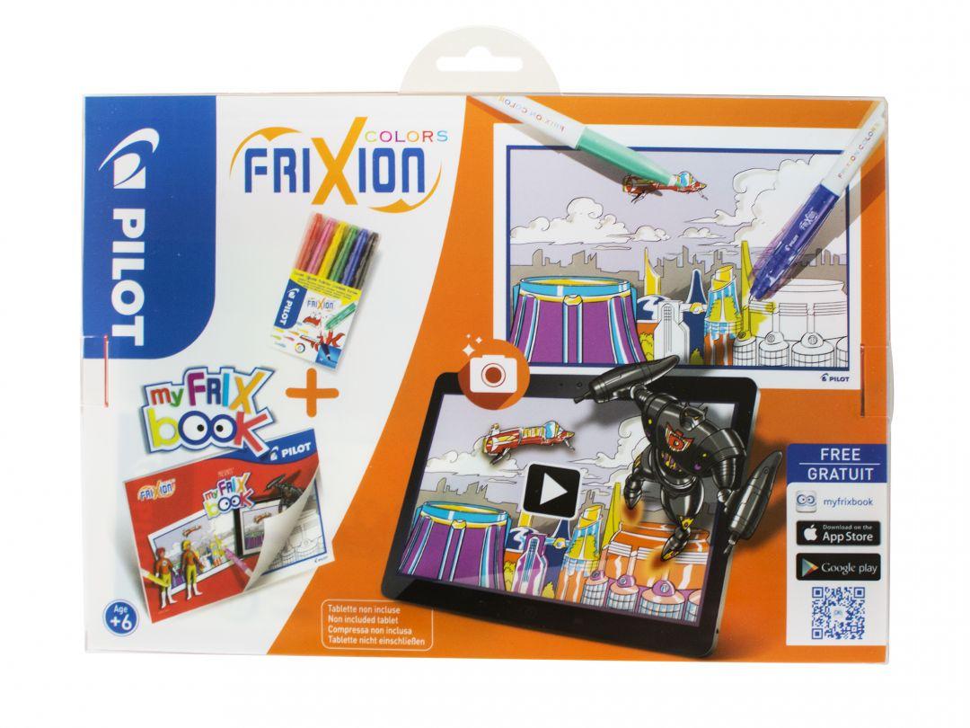FriXion Colors - Set My FriX Book x 6 V2 - Assorted colors - Medium Tip