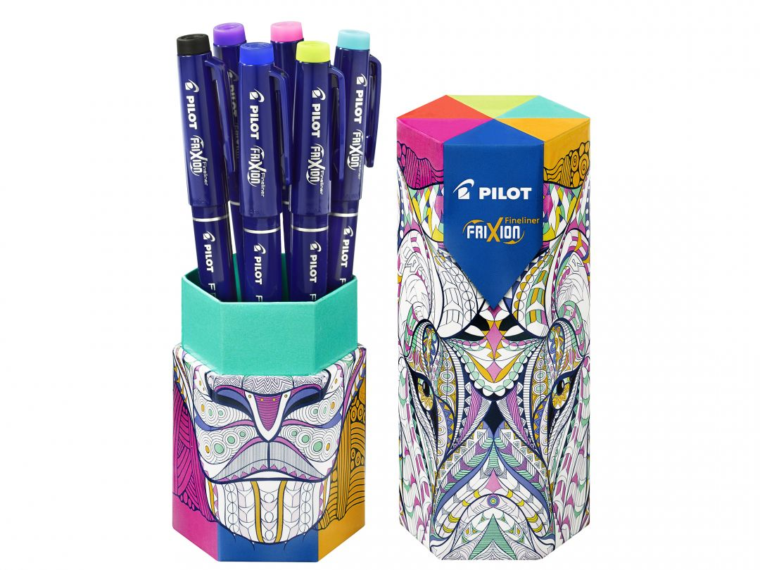 FriXion Fineliner - Pen Case - Assorted colours - Fine Tip