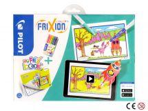 FriXion Colors - Set My FriX Book x 6 - Assorted colors - Medium Tip