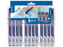 FriXion Fineliner - Evolutive Set of 12 - Assorted colors - Fine Tip