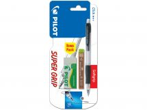 Blis H-185 Neon Assorted - Leads HB - Eraser