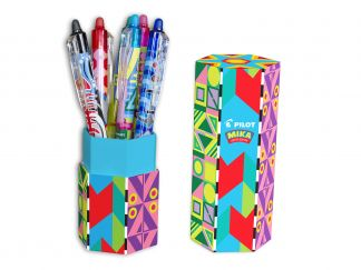 FriXion Ball Clicker 0.7 - Mika Limited Edition Pen Holder - Assorted colors - Medium Tip