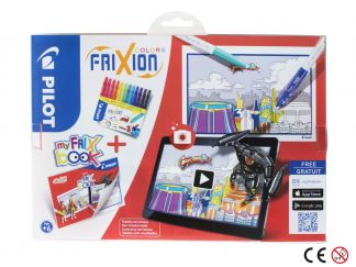 FriXion Colors - Set My FriX Book x 12 V2 - Assorted colors - Medium Tip