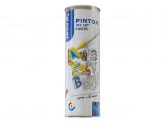 Pilot Pintor - Set DIY Poster - Assorted colors - Fine Tip
