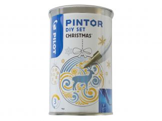 Pilot Pintor - Set DIY Christmas - Assorted colors - Fine Tip