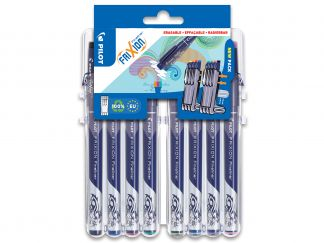 FriXion Fineliner - Evolutive Set of 8 - Assorted colors - Fine Tip