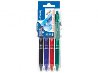 FriXion Ball Clicker 0.7 - Set2Go - 4 pens - Black, Blue, Red, Green - Medium Tip