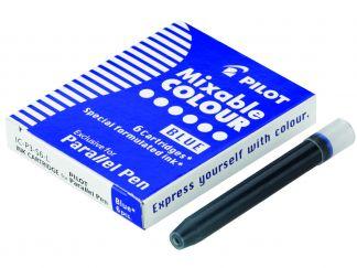 Parallel Pen - Set of 6 Cartridges - Blue - Liquid Ink