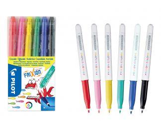 FriXion Colors - Felt Pen - Set of 6 - Assorted colors - Medium Tip