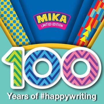 Pilot 100 Years of Happywriting with Mika
