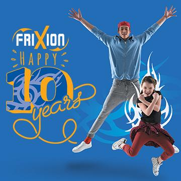 Celebrate the 10 years of FriXion !