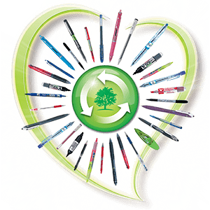 Begreen: the PILOT recycled products range